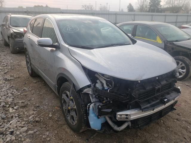 Salvage cars for sale from Copart Columbus, OH: 2019 Honda CR-V EXL