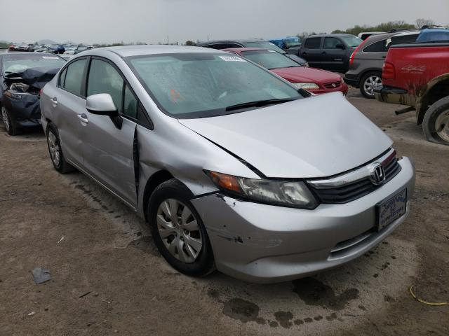 Salvage cars for sale from Copart Madisonville, TN: 2012 Honda Civic LX