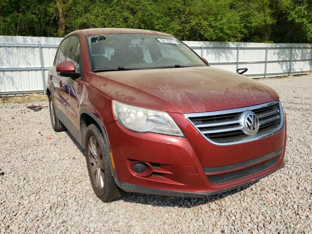 Salvage cars for sale from Copart Knightdale, NC: 2010 Volkswagen Tiguan S