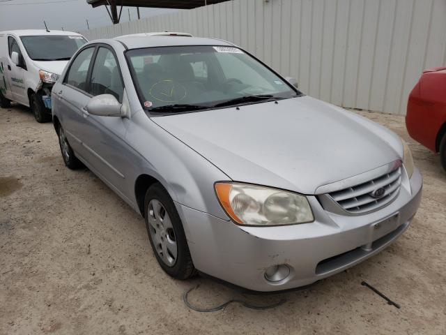 Salvage cars for sale from Copart Temple, TX: 2006 KIA Spectra LX