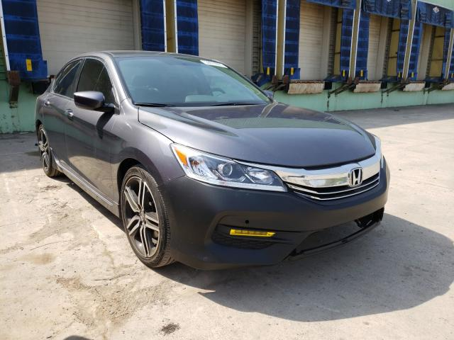 Salvage cars for sale from Copart Columbus, OH: 2017 Honda Accord Sport