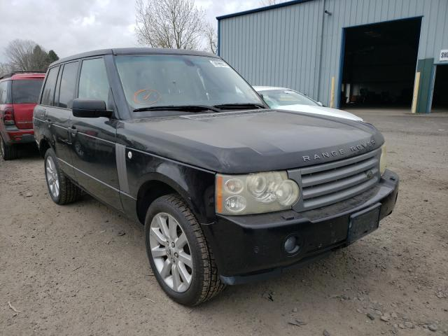 Salvage cars for sale from Copart Portland, OR: 2007 Land Rover Range Rover