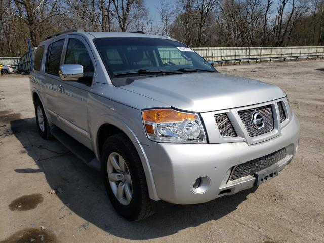 Salvage cars for sale from Copart Ellwood City, PA: 2015 Nissan Armada SV