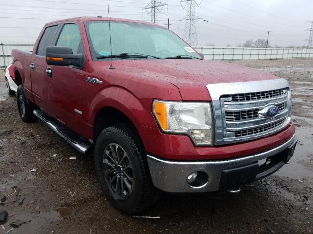 Salvage cars for sale from Copart Elgin, IL: 2014 Ford F150 Super