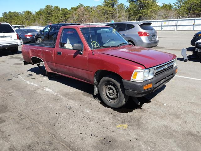 Salvage cars for sale from Copart Brookhaven, NY: 1993 Toyota Pickup 1/2
