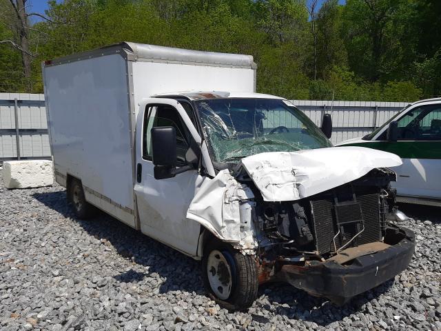 Salvage trucks for sale at Montgomery, AL auction: 2010 GMC Savana CUT