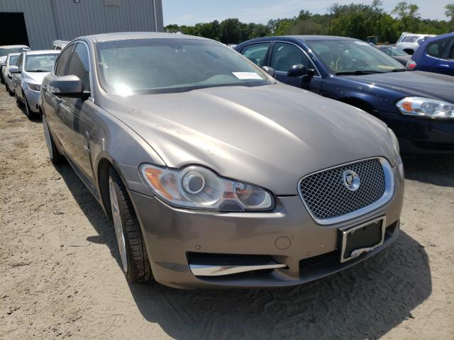 Salvage cars for sale from Copart Jacksonville, FL: 2009 Jaguar XF Superch