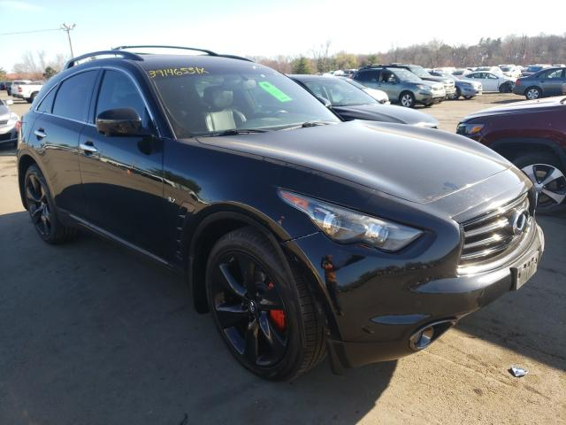 Infiniti QX70 salvage cars for sale: 2016 Infiniti QX70
