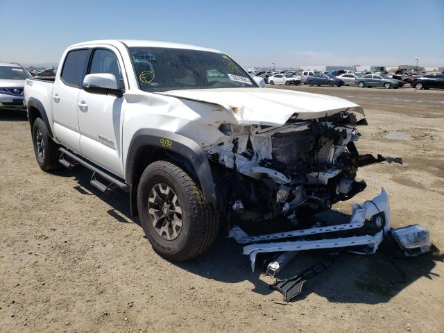 Salvage cars for sale from Copart San Diego, CA: 2021 Toyota Tacoma DOU