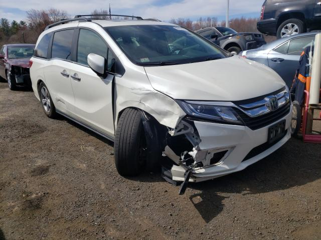 Salvage cars for sale from Copart East Granby, CT: 2018 Honda Odyssey EX