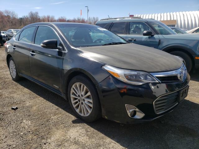 Salvage cars for sale at East Granby, CT auction: 2013 Toyota Avalon Hybrid