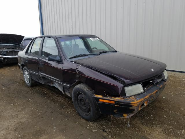 Dodge Shadow salvage cars for sale: 1990 Dodge Shadow