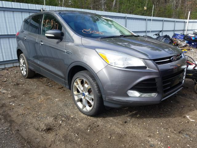 Salvage cars for sale from Copart Lyman, ME: 2013 Ford Escape SEL