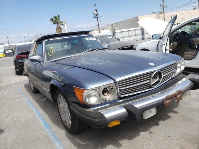 Mercedes-Benz 380 SL salvage cars for sale: 1982 Mercedes-Benz 380 SL