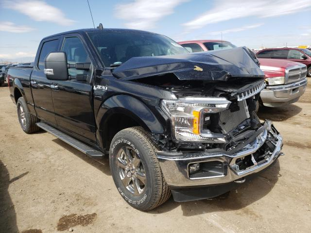 Salvage cars for sale from Copart Brighton, CO: 2020 Ford F150 Super