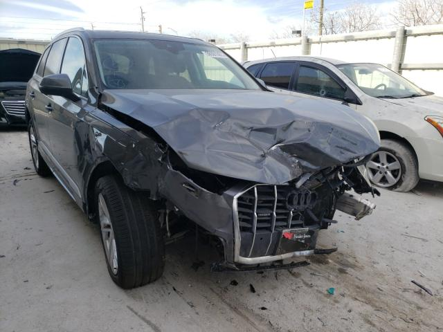Salvage cars for sale from Copart Homestead, FL: 2020 Audi Q7 Premium