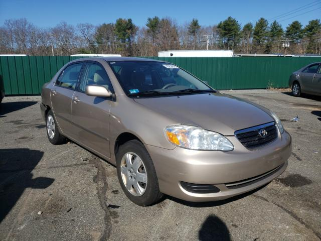 Salvage cars for sale from Copart Exeter, RI: 2007 Toyota Corolla CE