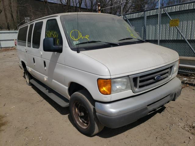 Vehiculos salvage en venta de Copart North Billerica, MA: 2006 Ford Econoline