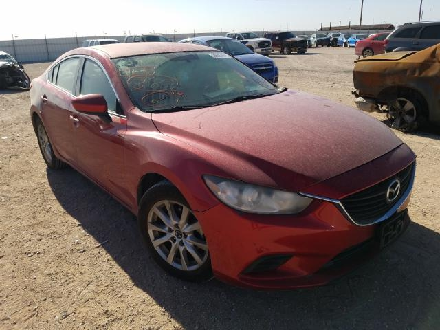 Salvage cars for sale from Copart Andrews, TX: 2014 Mazda 6 Sport