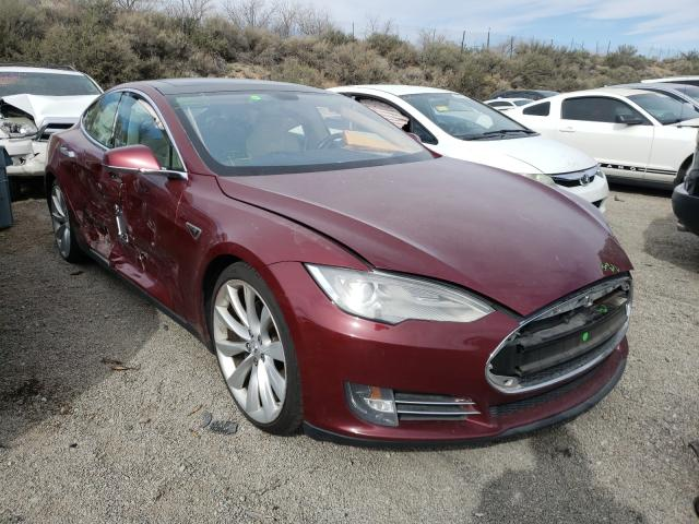Salvage cars for sale from Copart Reno, NV: 2012 Tesla Model S