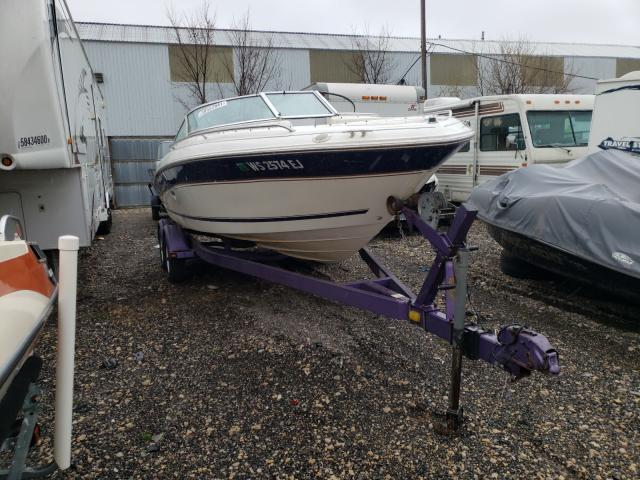 Salvage cars for sale from Copart Cudahy, WI: 1997 Sea Ray 210