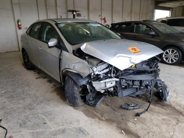 Ford Focus salvage cars for sale: 2017 Ford Focus