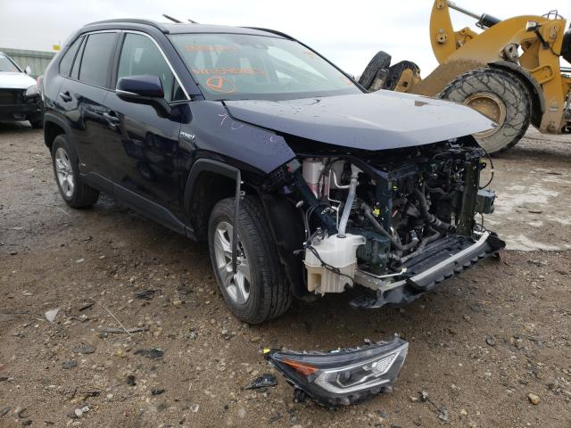 Salvage cars for sale from Copart Kansas City, KS: 2019 Toyota Rav4 XLE