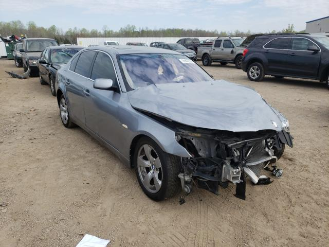 BMW salvage cars for sale: 2005 BMW 530 I
