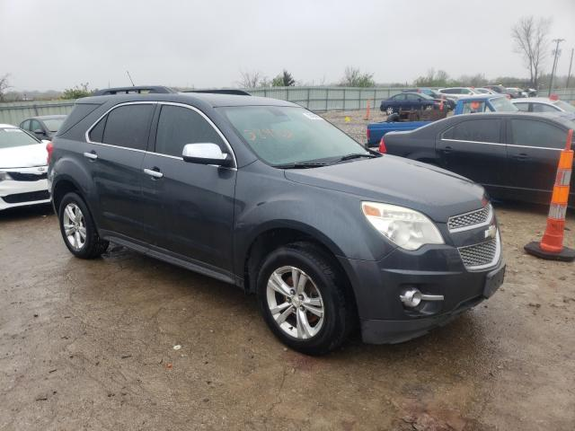 Salvage cars for sale from Copart Kansas City, KS: 2010 Chevrolet Equinox LT
