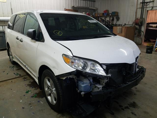Salvage cars for sale from Copart Avon, MN: 2019 Toyota Sienna