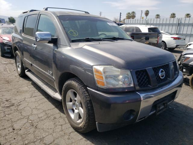 Salvage cars for sale from Copart Colton, CA: 2006 Nissan Armada SE