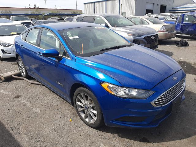 Salvage cars for sale from Copart Las Vegas, NV: 2017 Ford Fusion SE
