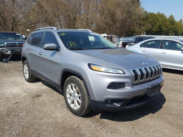 Salvage cars for sale from Copart London, ON: 2015 Jeep Cherokee L