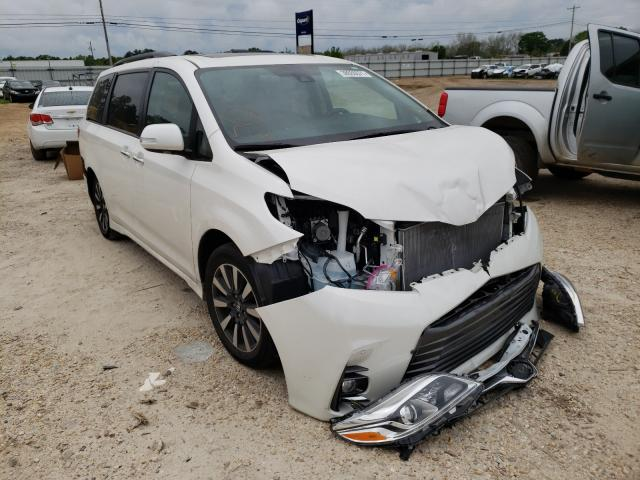 Salvage cars for sale from Copart Newton, AL: 2018 Toyota Sienna XLE