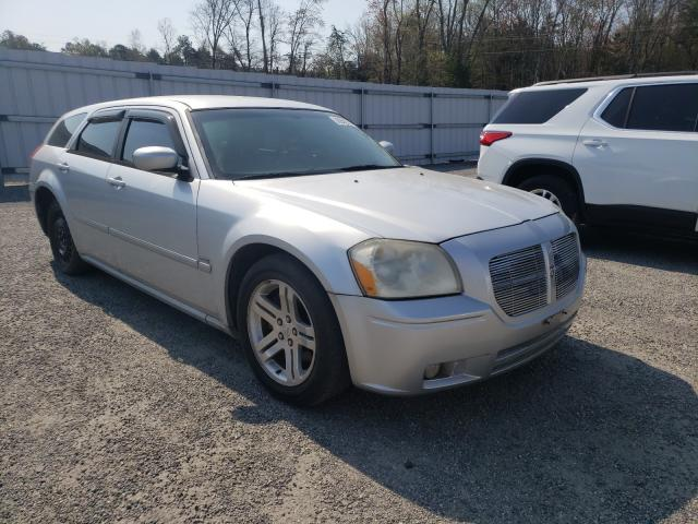 Salvage cars for sale from Copart Fredericksburg, VA: 2005 Dodge Magnum R/T