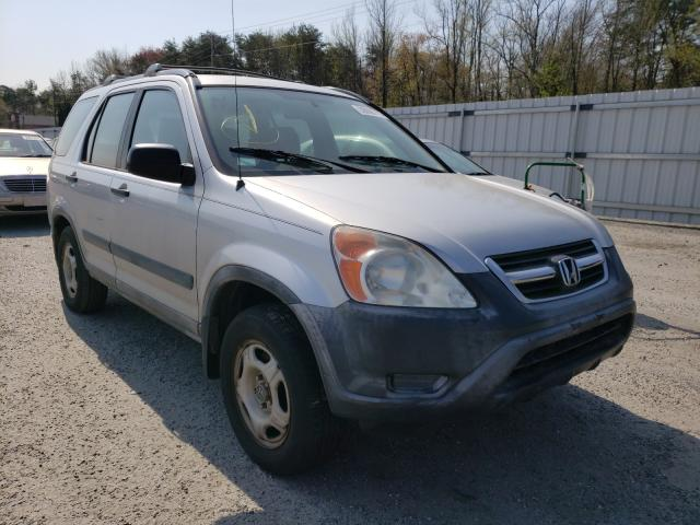 Salvage cars for sale from Copart Fredericksburg, VA: 2002 Honda CR-V LX