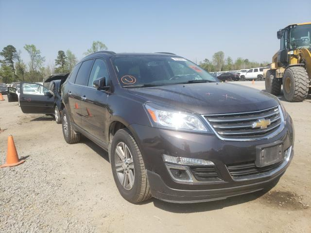 Salvage cars for sale from Copart Lumberton, NC: 2017 Chevrolet Traverse L