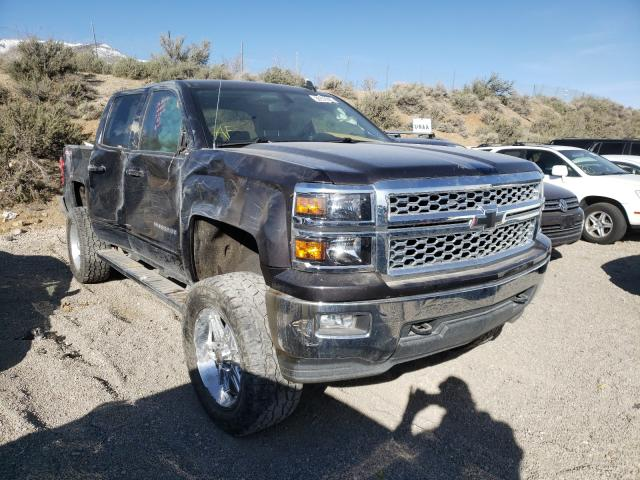 Salvage cars for sale from Copart Reno, NV: 2015 Chevrolet Silverado