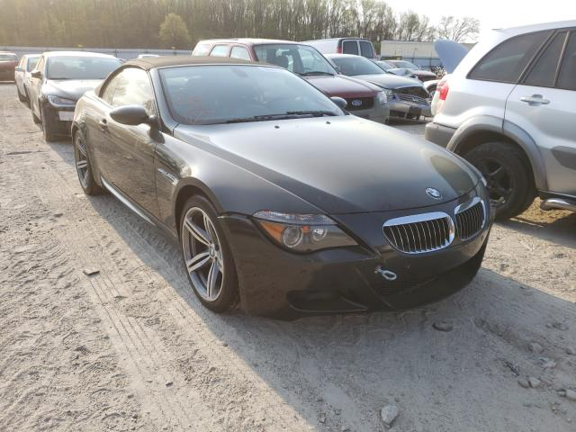 Salvage cars for sale from Copart Hampton, VA: 2007 BMW M6