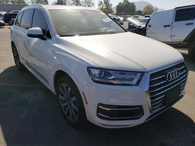 Salvage cars for sale from Copart Colton, CA: 2018 Audi Q7 Premium