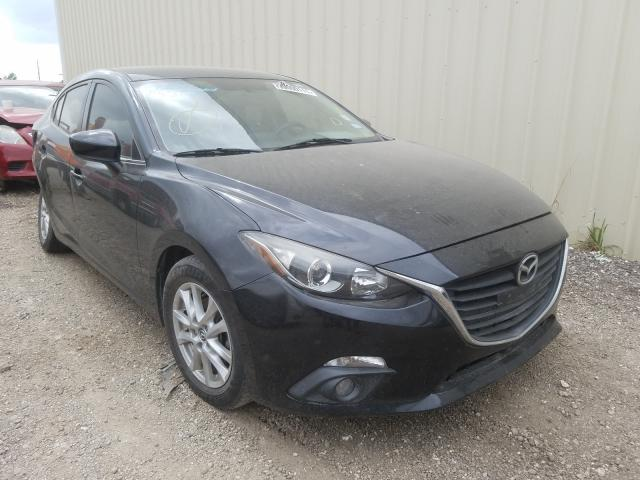 Salvage cars for sale from Copart Houston, TX: 2015 Mazda 3 Touring