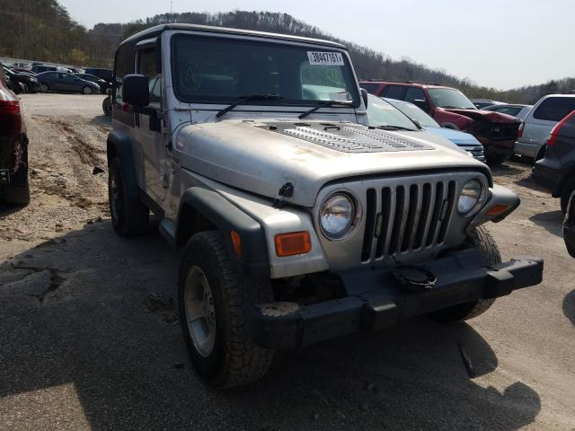 Salvage cars for sale from Copart Hurricane, WV: 2006 Jeep Wrangler