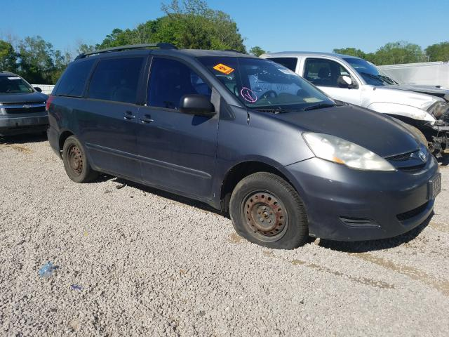 Salvage cars for sale from Copart Eight Mile, AL: 2007 Toyota Sienna CE