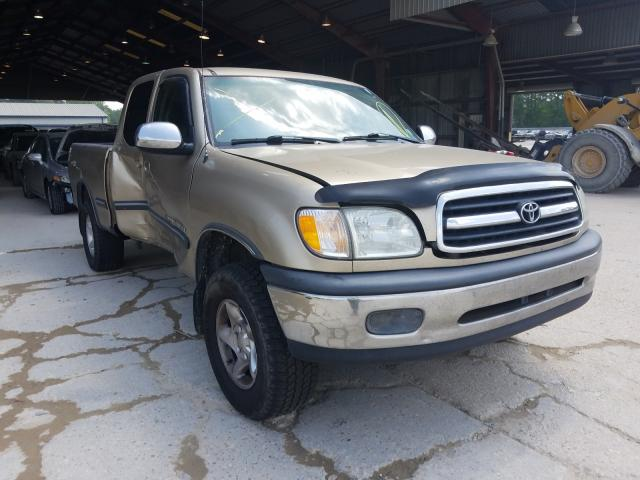 Salvage cars for sale from Copart Greenwell Springs, LA: 2002 Toyota Tundra ACC