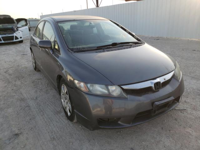 Salvage cars for sale from Copart Temple, TX: 2010 Honda Civic LX