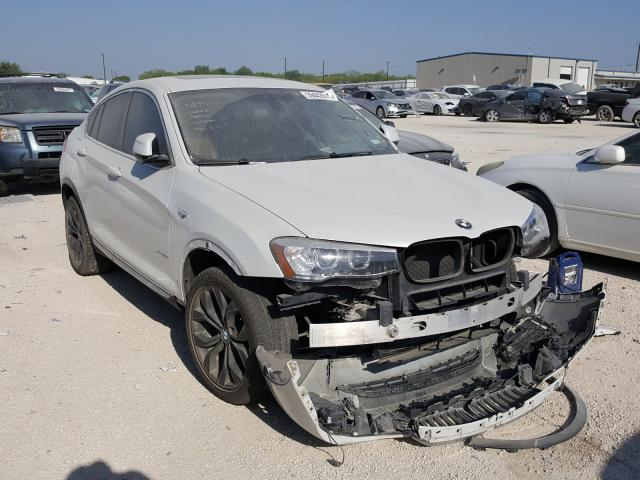 Salvage cars for sale from Copart San Antonio, TX: 2016 BMW X4 XDRIVE2