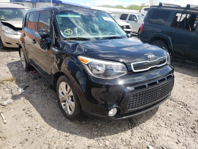 Salvage cars for sale from Copart Hueytown, AL: 2016 KIA Soul +