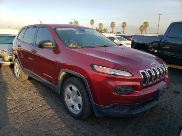 Salvage cars for sale from Copart Colton, CA: 2014 Jeep Cherokee S