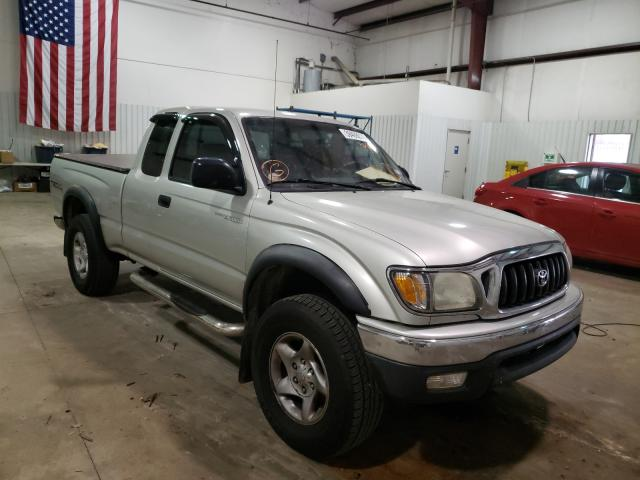 Salvage cars for sale from Copart Lufkin, TX: 2001 Toyota Tacoma XTR