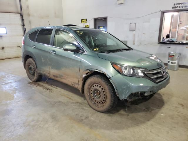 Salvage cars for sale from Copart Atlantic Canada Auction, NB: 2013 Honda CR-V EX